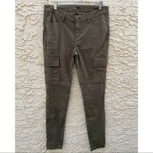 Prana Meme Skinny Green Cargo Pants Hiking 8